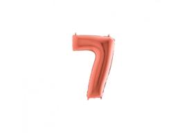 Folieballon 7 rosé 14''
