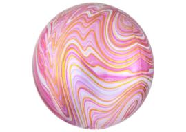 Marble roze 16x16''
