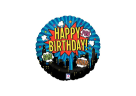 Happy birthday superhelden 18''