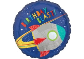 Birthday blast raket 18''