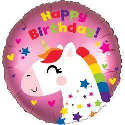 Happy birthday eenhoorn 18''