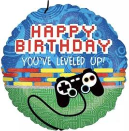 Happy birthday, you've leveled up! 18''