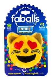 FabDog Cat Heart Eyes Faball S
