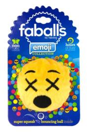 FabDog Cross Eyed Emoji Faball M