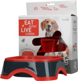Eat Slow Live Longer Amaze Pinwheel Red