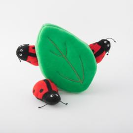 Blad met Lieveheersbeestjes