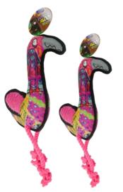 Urban Zoo Super Tough Rope Flamingo