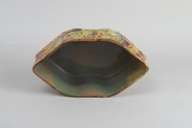 Harrach ''Jaspis'' Glas Jardiniere
