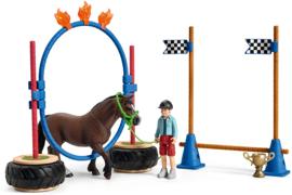 Pony behendigsheids set - Schleich 42482