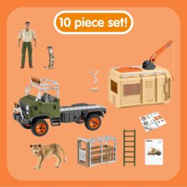 Reddingstruck voor wilde dieren - Schleich 42475