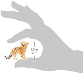 Jachtluipaard welp - Schleich 14747