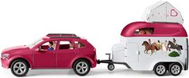 Auto en trailer - Schleich 42535
