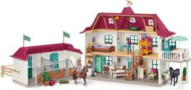 Lakeside landhuis en stal Horse Club - Schleich 42551