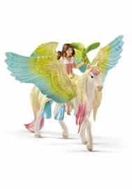 Elf Surah met pegasus - Schleich 70566