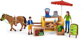Boeren marktkraam - Schleich 42528