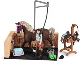 Paardenwasbox Emily en Luna - Schleich 42438