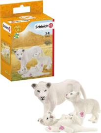 Leeuwen (wit) set  Schleich 42505