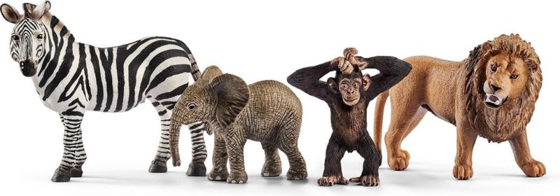 Wilde dieren set - Schleich 42387
