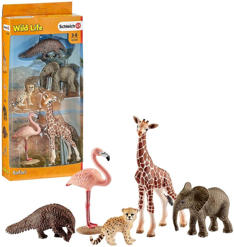 Wilde dieren set Schleich 42388