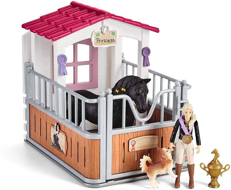 Paardenbox Tori met Paard Princess - Schleich 42437