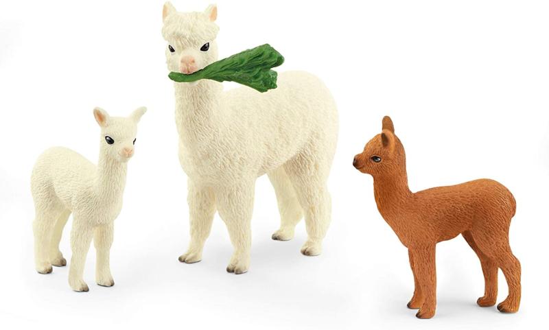 Alpaca familie set - Schleich 42544