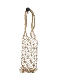 Flessenhouders van hennep touw - small