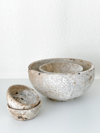 Bazar Bizar burned bowls - maat XS