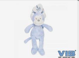 Aap blauw velours VIB
