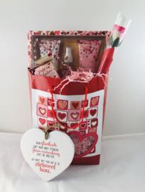 Cosmetica giftbox met keramieken ❤️«Jouw glimlach..»
