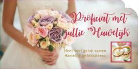 Felicitaties voor een huwelijk