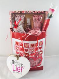 Cosmetica giftbox met keramieken  ❤️«Ik vind je lief»