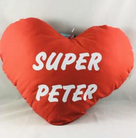 Hartekussen 60cm»SUPER PETER»