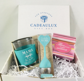 """Thee cadeauset """"liefste mama"""""""
