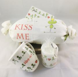 Servetset «Kiss me»