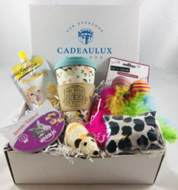 Miauw giftbox met meeneembeker