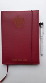 Persoonlijk Notitieboek-cover voor bedrijven (prijs op aanvraag)
