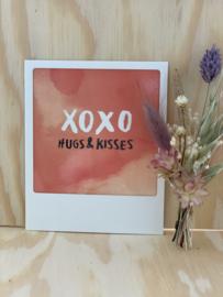 XOXO Hugs & Kisses