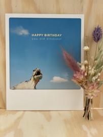 Happy Birthday you old dinosaur!