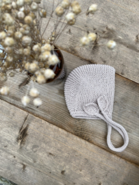 Rosalie - bonnet kleur beige