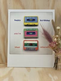 Happy birthday, you're older than internet!