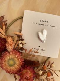 Broche HEART - zilver