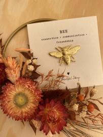 Broche BEE - goud