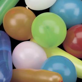 Ballonnen gekleurd 20 stuks