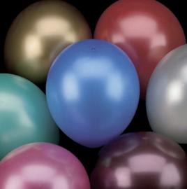 Ballonnen metallic 8 stuks
