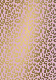Bruna Cadeaupapier Cheetah 70 x 200 per rol