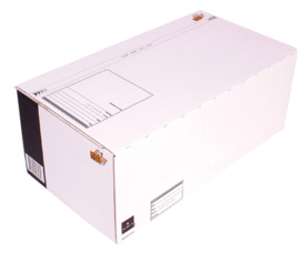 Cleverpack Postpakketbox 6 485X260X185MM Wit