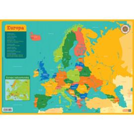 Educatieve onderlegger - Europa