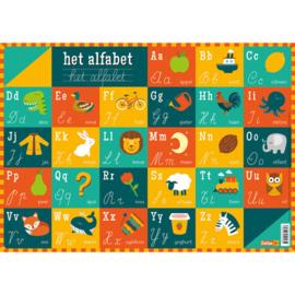 Educatieve onderlegger - Het alfabet