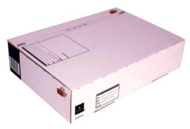 Cleverpack Postpakketbox 5  430X300X90MM Wit