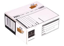 Cleverpack Postpakketbox 1  146X131X56MM Wit
